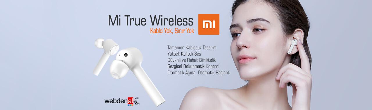 Xiaomi Mi True Wireless Kulaklık - Beyaz