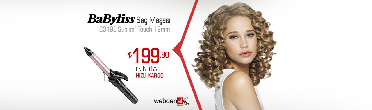 BaByliss C319E Sublim Touch Saç Maşası