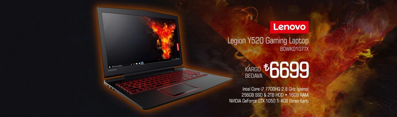Lenovo Legion Y520 Gaming Notebook