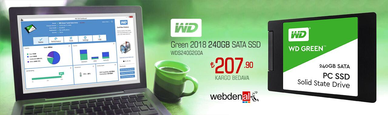 WD Green 2018 240GB SSD