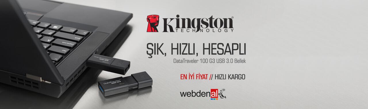 Kingston DataTraveler 100 G3 USB Bellek