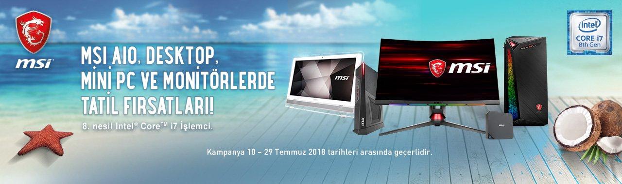 MSI Gaming Bilgisayarlarda Temmuz Fırsatları  Webdenal'da...