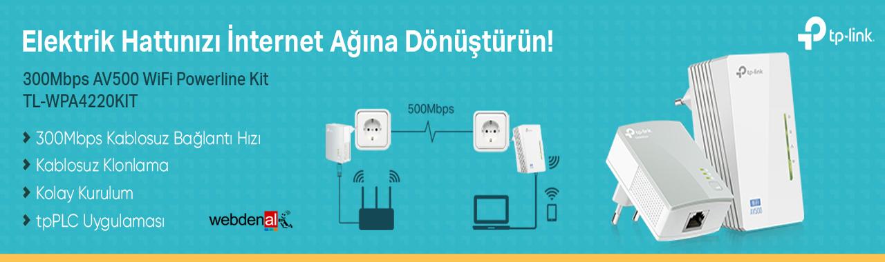 Tp-link TL-WPA4220KIT 300Mbps AV500 WiFi Powerline