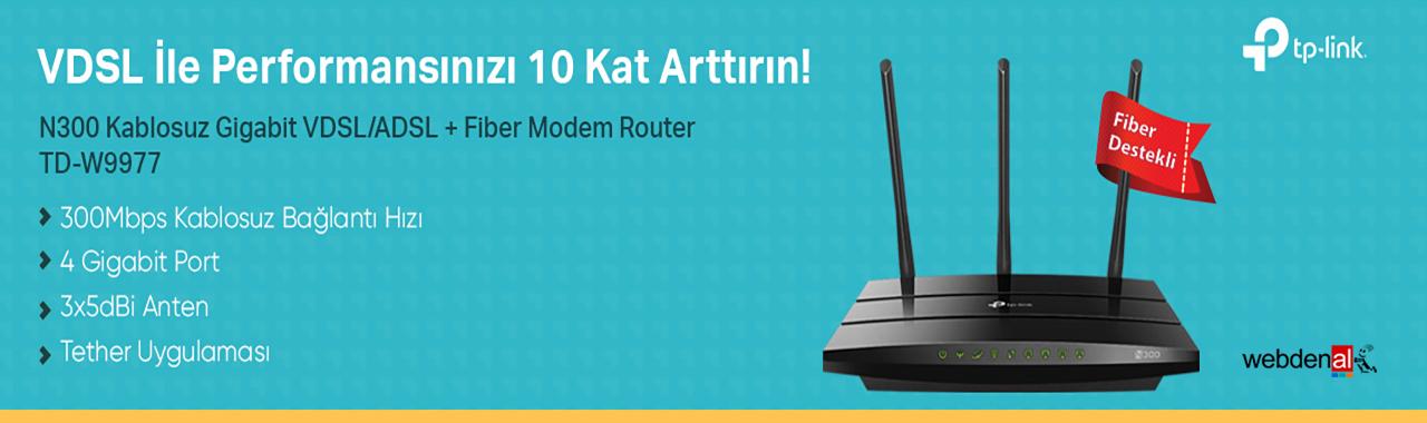 Tp-link TD-W9977 300Mbps VDSL2/ADSL2+ WiFi Modem