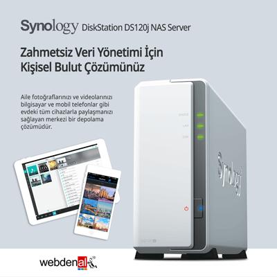 Synology DiskStation DS120j NAS Server