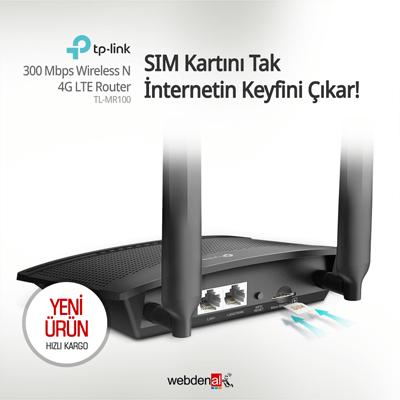 TP-Link TL-MR100 4G LTE Router
