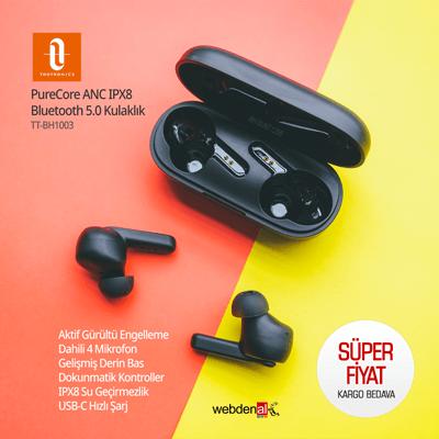 TaoTronics TT-BH1003 PureCore ANC IPX8 Bluetooth Kulaklık