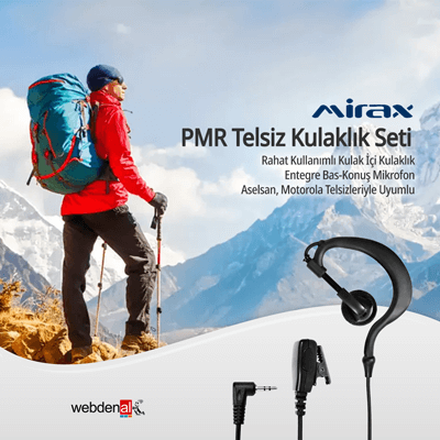 Mirax Telsiz Kulaklık Setleri