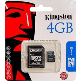 KINGSTON-4 GB MİCRO SD CARD